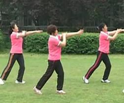 广场舞简单易学 中老年经络健身操及动作分解