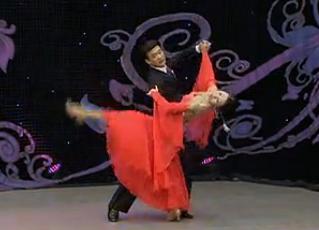 国际交谊舞神秘园 华尔兹 世界体育舞蹈规范舞蹈联合会倾情奉献