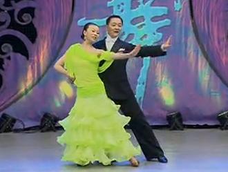 國際交誼舞比翼雙飛 華爾茲 表演閆志平 霍娟秀