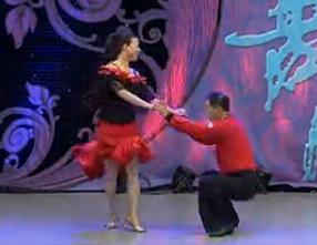 國際交誼舞我叫小沈陽 吉特巴 表演閆志平 霍娟秀