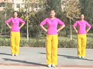 龍都舞動晨韻原創有氧健身舞自由自在正面背面含教學