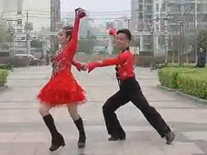 雙人舞 交誼舞 靈動三步踩 三步踩教學 慢動作教學