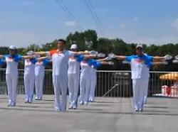 齐齐哈尔市快乐舞步健身操