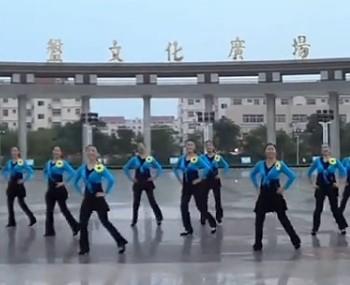 2016年-临盘立华广场舞舞动爱正反面含分解-附视频舞曲下载