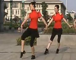 绚舞广场舞爱情红绿灯正面背面附动作分解教学