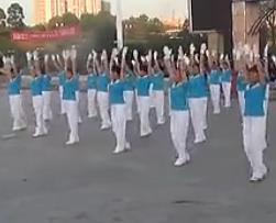 佳木斯快乐舞步 健身操 第一套 红枫健身表演