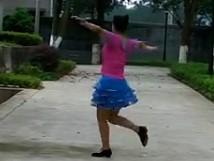 广场舞八千八紫玫瑰广场舞