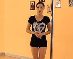 钢管舞教学基础舞步 钢管舞教学分解动作