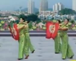 杨艺广场舞秧歌大 扇子舞 含动作分解教学 音乐免费下载