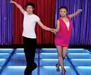 恰恰舞 恰恰金牌套路 双人搭手步伐讲解