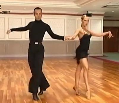 超清 Franco Oxana 恰恰舞教学视频套路展示