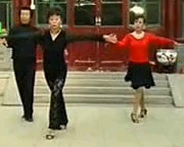 中老年单人《恰恰舞》舞步舞蹈教学