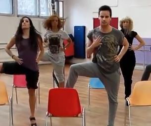 超清椅子舞 多人表演