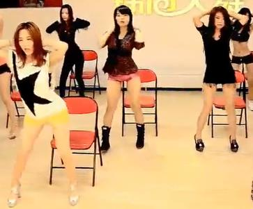 道具秀 椅子舞视频