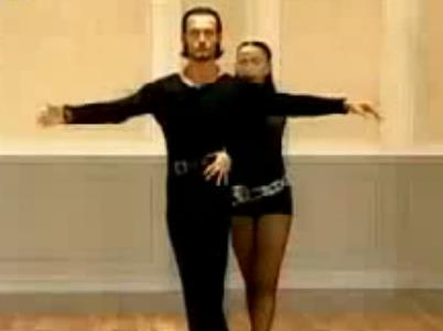 恰恰舞教学 斯拉维克卡琳娜