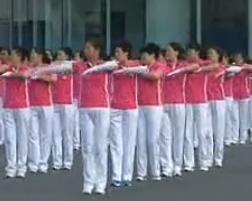 宁安广场僵尸舞 有氧新行进健身操