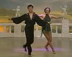 舞厅交谊舞 恰恰舞 中老年舞蹈教学 老歌恰恰