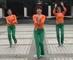 周思萍廣場舞系列 下馬酒之歌 攝像制作大人
