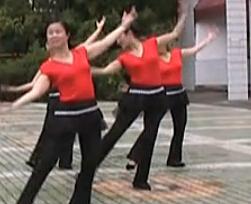 高安广场舞西藏的天空 中老年广场舞视频