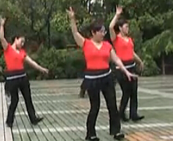 高安廣場舞火紅的花兒 廣場舞視頻歌曲免費下載