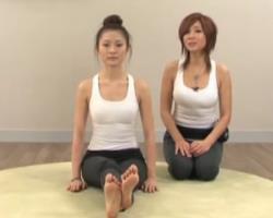 第16期 腿部与背部肌肉伸展 郑多燕伸展操 韩国减肥健身操