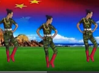 东方倩影广场舞 当兵的历史视频舞曲