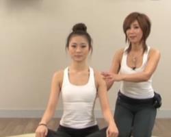 第4期 伸展?#30452;?#20869;侧 韩国完整郑多燕健身操 健身减肥动作教学
