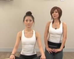 第9期 肩颈部位的伸展 郑多燕伸展操 韩国时尚减肥瘦身操