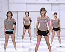 第22期 第一部分教学 郑多燕减肥操 韩国健身操