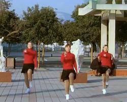 青馨明月廣場舞燃燒吧蔬菜 編舞西貝 時尚簡單減肥瘦身廣場舞