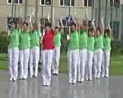 佳木斯快乐舞步 佳大自由操16节 男声口令版 13套
