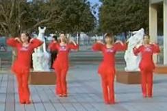 青馨明月廣場舞新年喜洋洋 編舞立華 2015年熱門廣場舞視頻舞曲下載