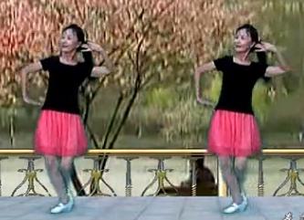春花廣場舞花開的時候你就來看我 附口令教學 簡單易學中老年廣場舞
