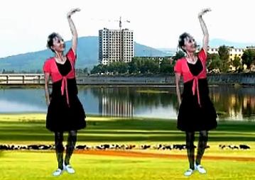 春花廣場舞冰雪天堂 正背面演示 口令教學 中老年廣場舞舞曲視頻下載