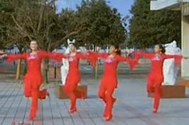 青馨明月廣場舞新年快樂歌 編舞阿中中 2015年新年最新廣場舞蹈歌曲mp3音樂免費下載