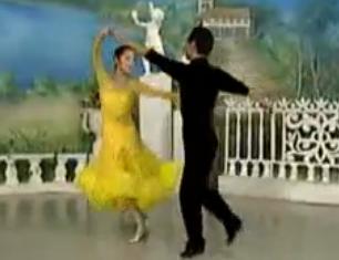 杨艺许玮娜教你跳慢三 华尔兹舞的通俗跳法 第三讲月亮湾