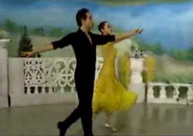 杨艺许玮娜教你跳慢三 第九讲月亮桥 华尔兹舞的通俗跳法