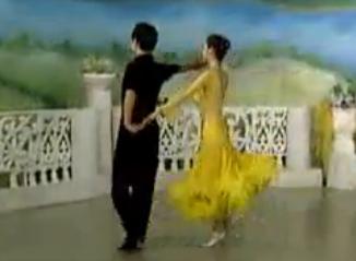 华尔兹舞的通俗跳法 第四讲藏族舞步 杨艺许玮娜教你跳慢三