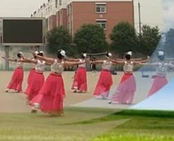 肥礦集團青馨明月廣場舞 夢之遠航 中老年廣場舞視頻