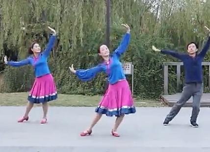 紫紫雨广场舞永远的那达慕舞蹈视频 编舞静静 蒙古舞蹈风格广场舞