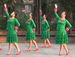北京加州广场舞楚风三月天 编舞格格