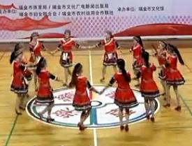 娇媚广场舞土家女儿会舞台队形版 欢快活泼的广场舞