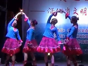 紫蝶踏歌广场舞贝加尔湖畔 舞台版 队形版 优美大方的中老年广场舞