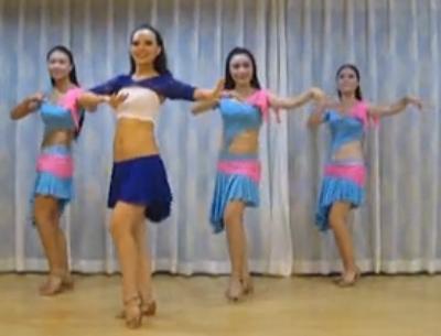 肚皮舞印度慢摇 金玫瑰国际舞蹈
