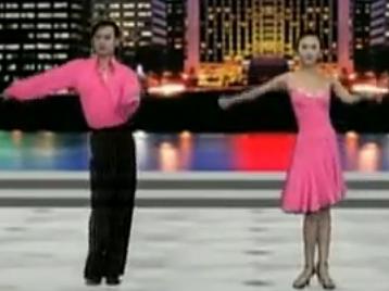 单人拉丁舞 单人伦巴舞第三组合 加勒比海