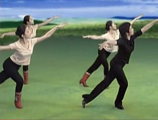 蒙古族舞蹈动律与柔臂组合 肩部练习 北院讲师蒙古舞教学