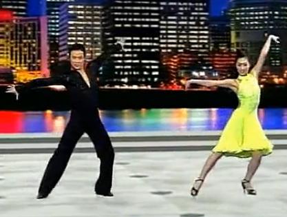单人拉丁舞——牛仔舞 第一组合 童趣无沿