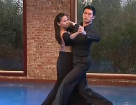 国标舞暗香残留 北京舞蹈学院邢睿 钟华龙表演 国际标准交谊舞