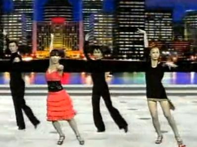 单人拉丁舞 牛仔舞第六组合 爵士劲舞