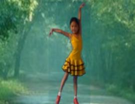 快乐小天使舞蹈花 恰恰风格广场舞